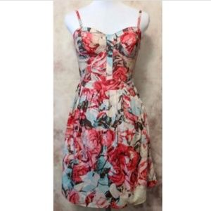 Jessica Simpson Avette Corset Sweetheart Floral